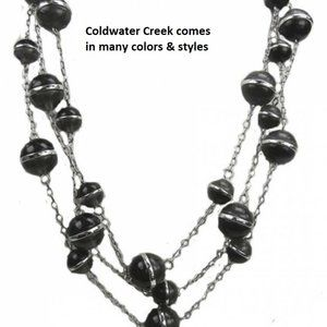 Coldwater Creek 3 Row Necklace NWT